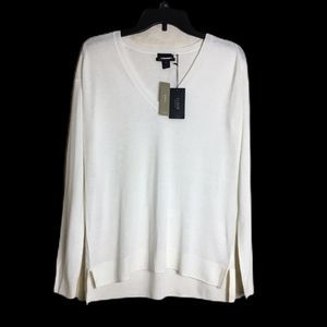 NWT J. Crew Collection XS Cashmere Sweater White